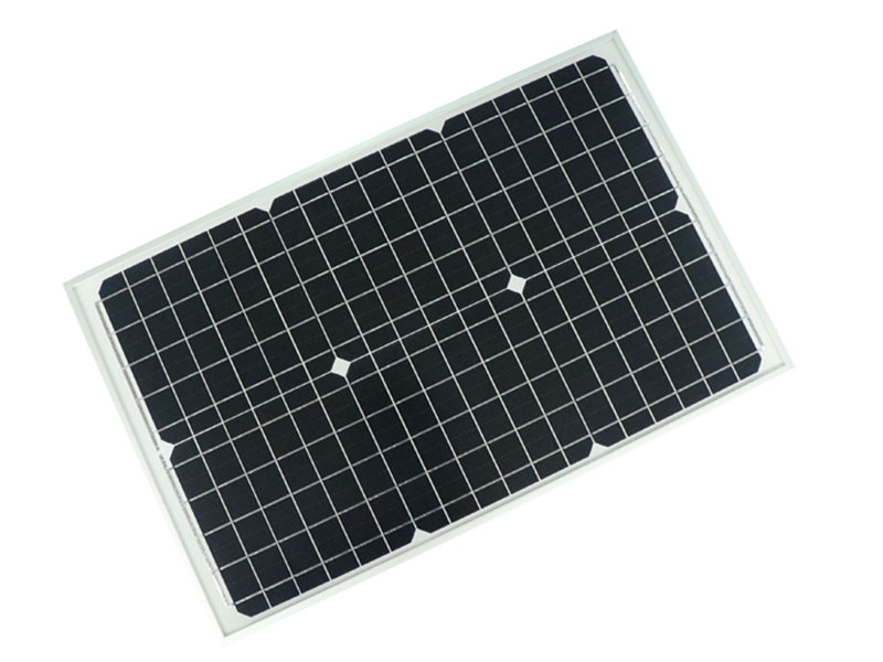 30W 18V Solar Panel with 5BB Solar Cell
